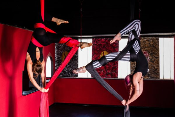 tessuti aerei pole dance gallarate
