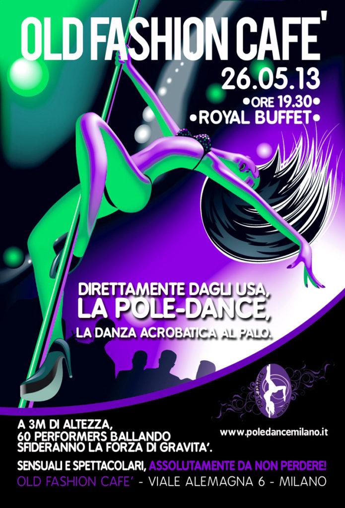 oldfashioncafè pole dance